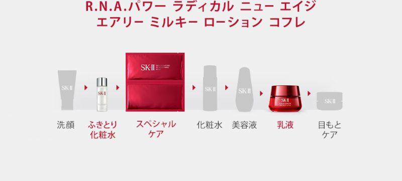 Thứ tự sử dụng sản phẩm SK-II cơ bản