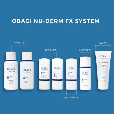 Quy trình sử dụng sản phẩm của Obagi giai đoạn trị nám