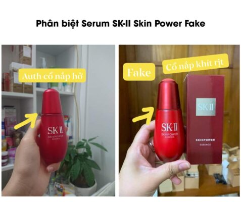 Serum Sk-II Skin Power Fake và Auth