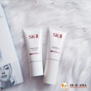 Kem chống nắng SK-II và CC cream SK-II
