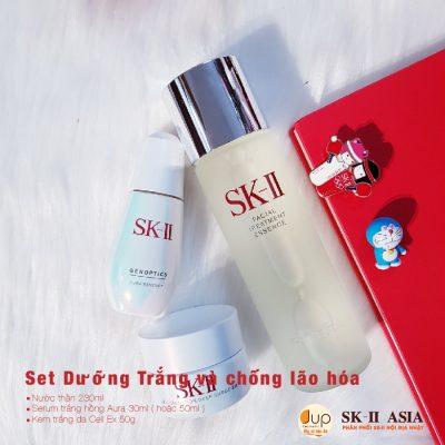 Những sản phẩm làm trắng da SK-II