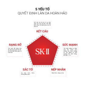 5 yếu tố da hoàn hảo của nước thần SK-II